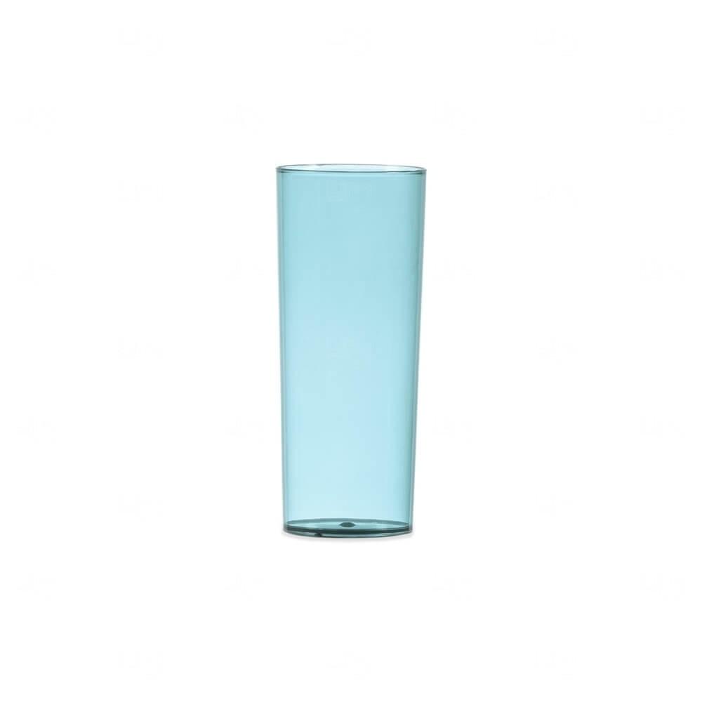 Copo Long Drink Personalizado - 330ml Azul Claro