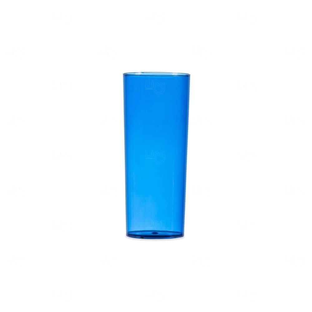 Copo Long Drink Personalizado - 330ml Azul