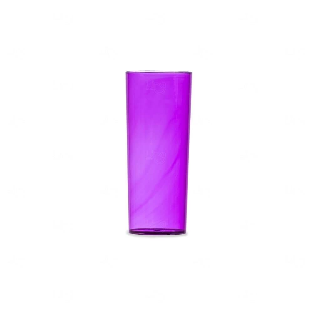 Copo Long Drink Personalizado - 330ml Roxo