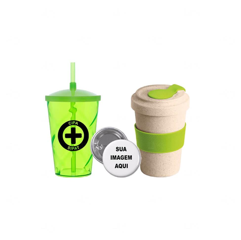 Kit Pegou Levou Personalizado Verde