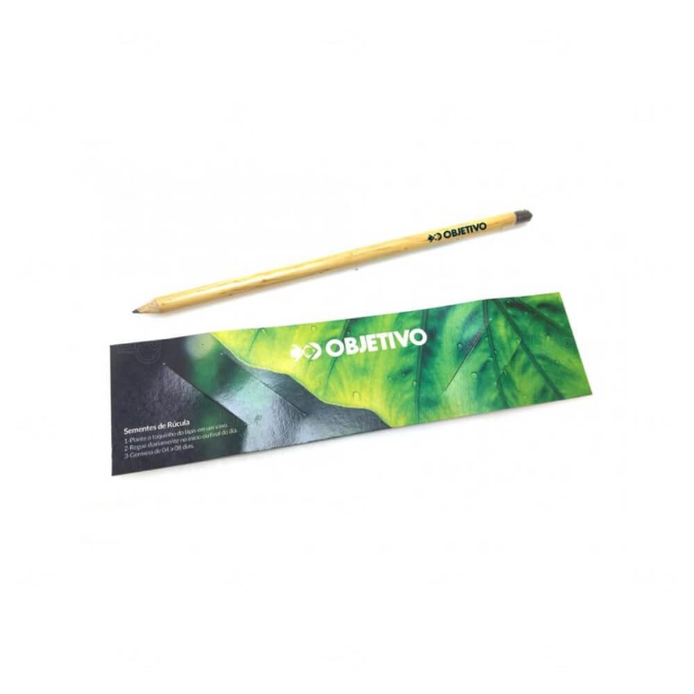 Lápis Natural Ecológico Personalizado