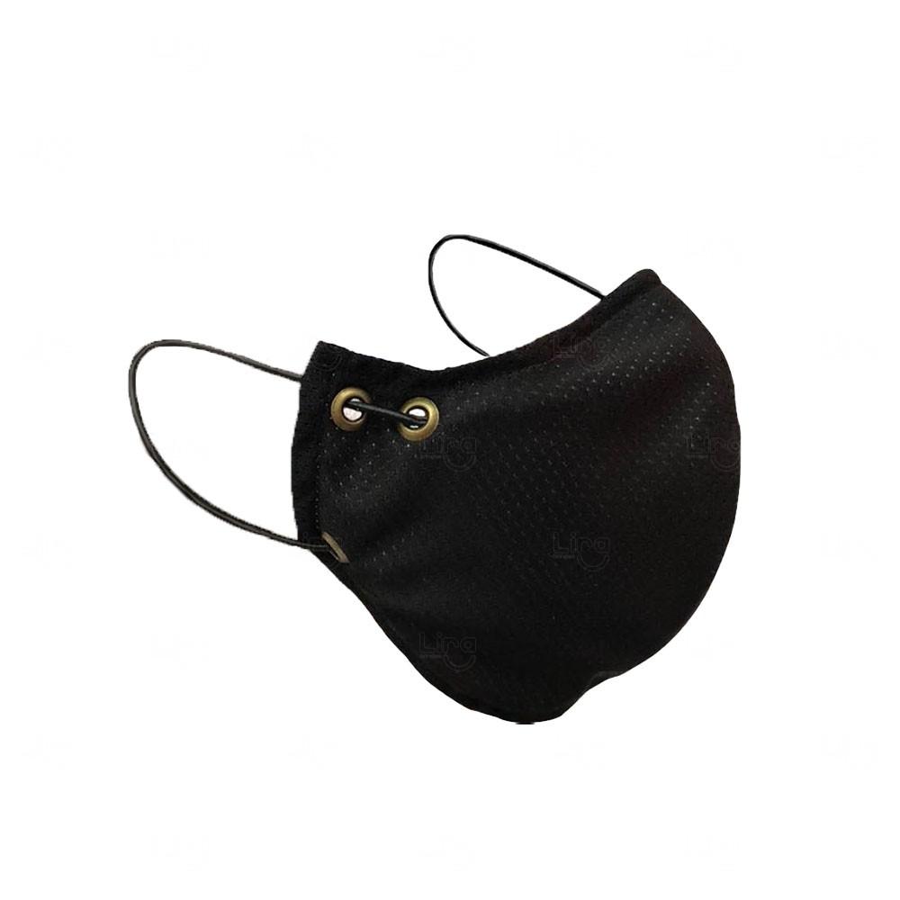 Máscara Personalizada Preto