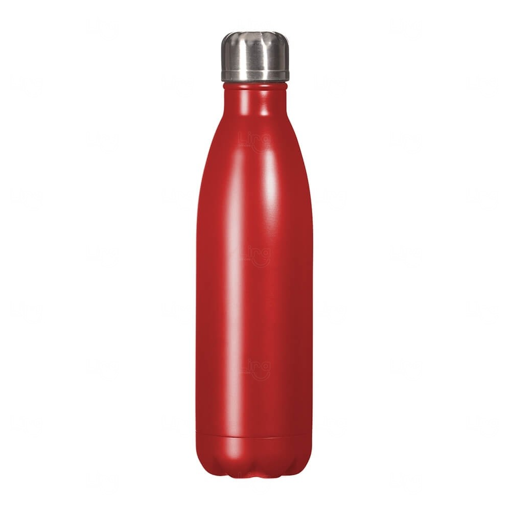 Squeeze Inox Personalizada - 750ml Vermelho
