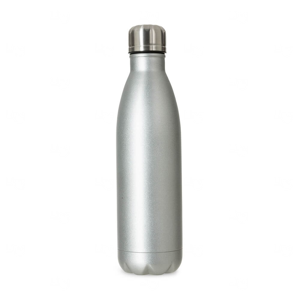 Squeeze Inox Personalizada - 750ml Prata