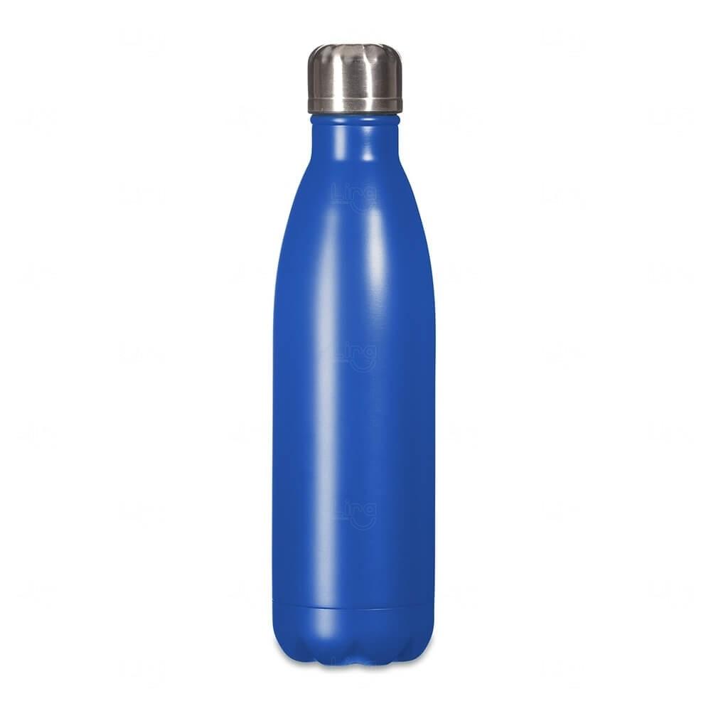 Squeeze Inox Personalizada - 750ml Azul