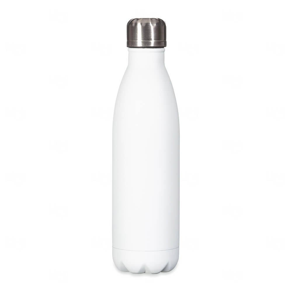 Squeeze Inox Personalizada - 750ml Branco