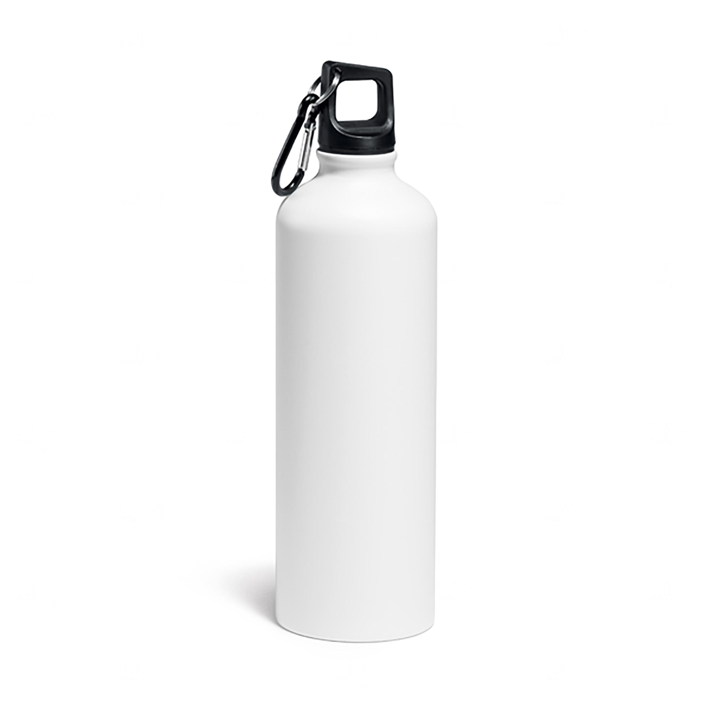 Squeeze Alumínio Personalizada - 800 ml Branco