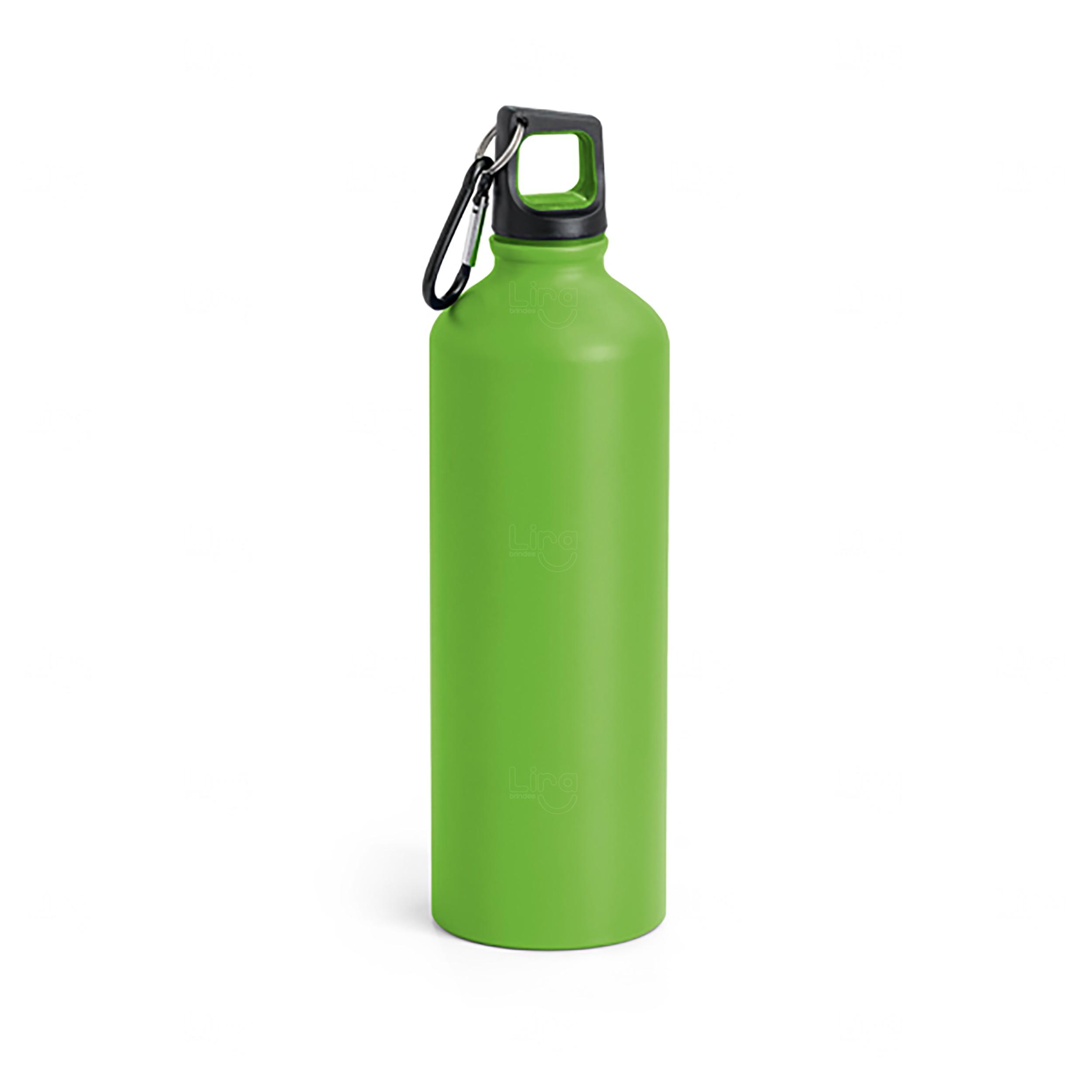 Squeeze Alumínio Personalizada - 800 ml Verde
