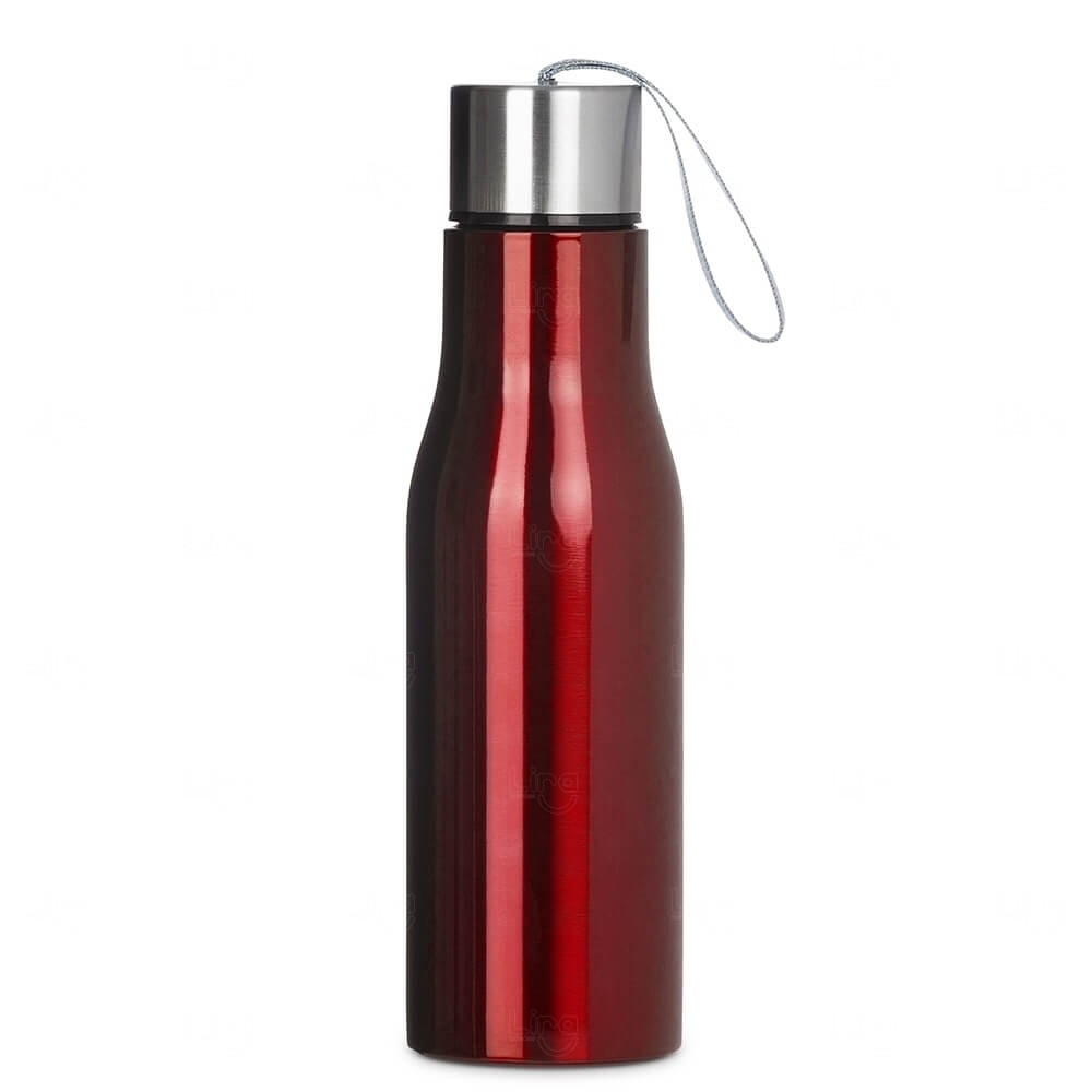 Squeeze Metal Personalizada - 780ml Vermelho