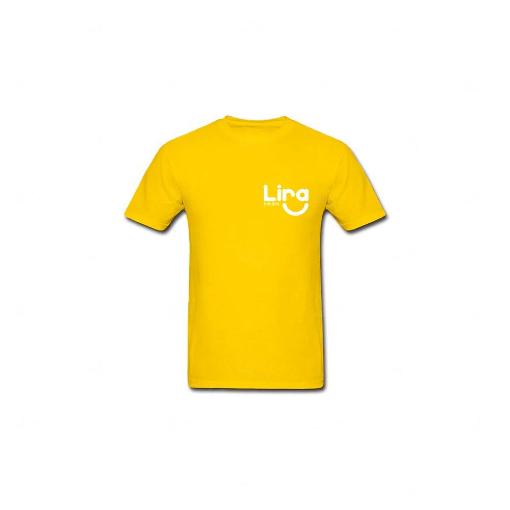 Camiseta Personalizada Amarelo