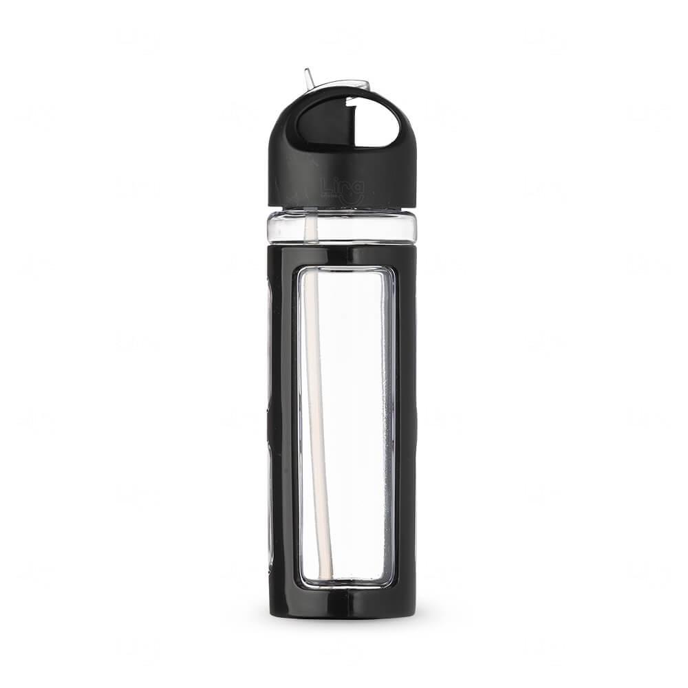 Squeeze Plástico Personalizada - 700ml Preto