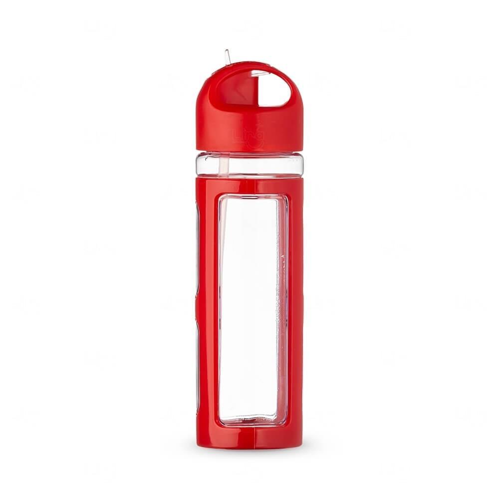 Squeeze Plástico Personalizada - 700ml Vermelho