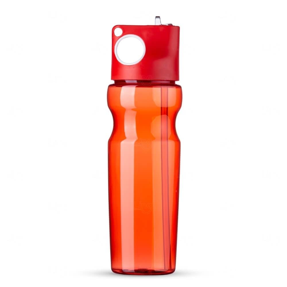 Squeeze Plástica Personalizada - 900ml Vermelho