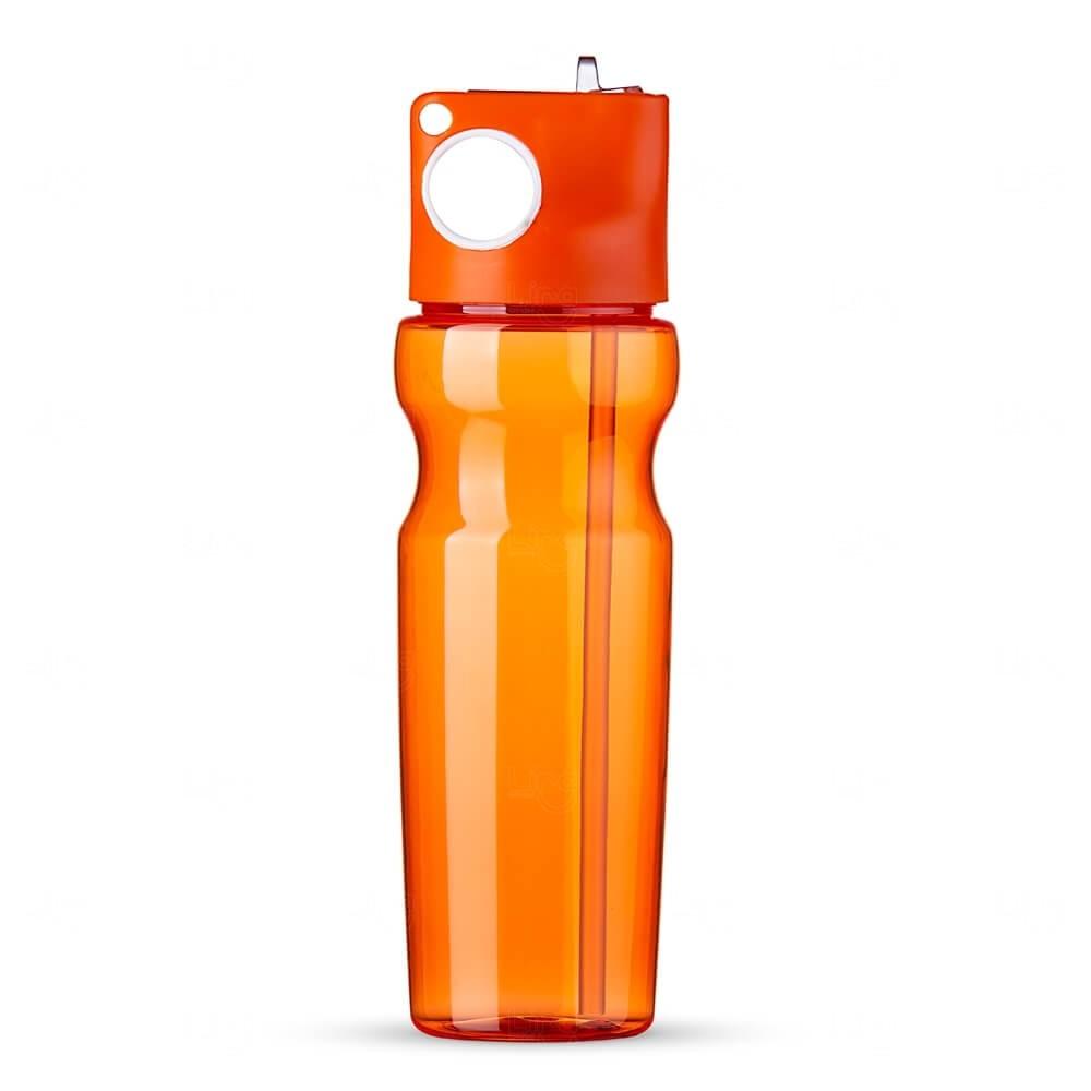 Squeeze Plástica Personalizada - 900ml Laranja