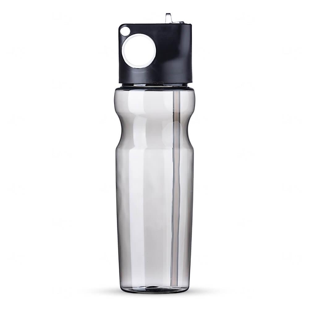 Squeeze Plástica Personalizada - 900ml Preto