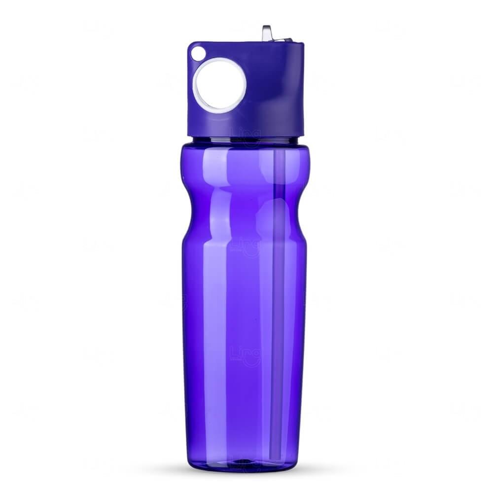 Squeeze Plástica Personalizada - 900ml Roxo