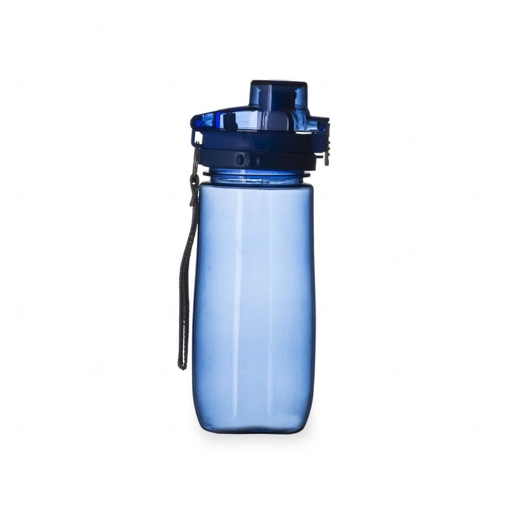 Squeeze Plástico Personalizada - 600ml Azul
