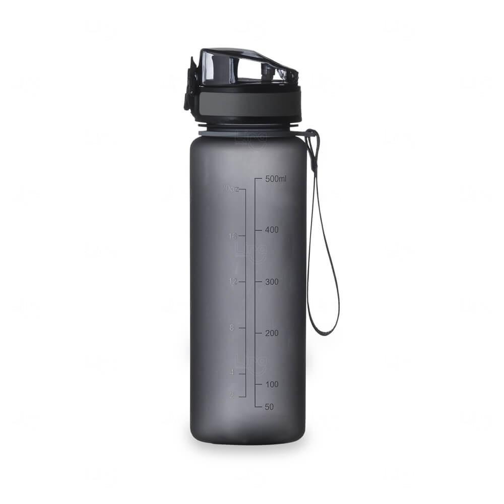 Squeeze Personalizada Em Plástico - 600ml Fume