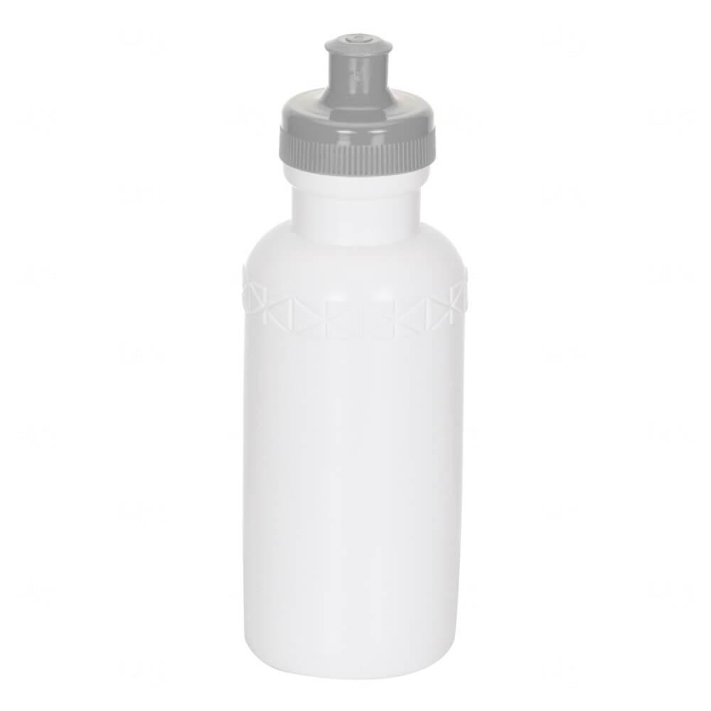 Squeeze Plástico Personalizada - 500ml Cinza