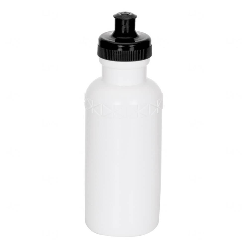 Squeeze Plástico Personalizada - 500ml Preto