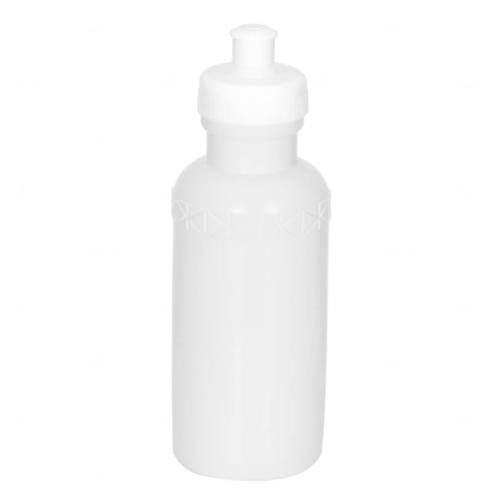 Squeeze Plástico Personalizada - 500ml Branco