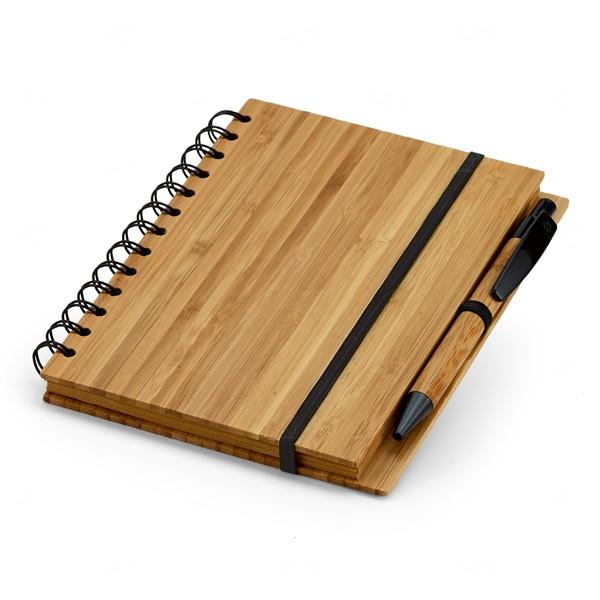 Caderno Bambu Grande Personalizado