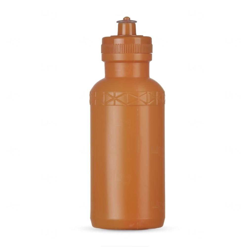 Squeeze Plástica Personalizada - 500ml Laranja