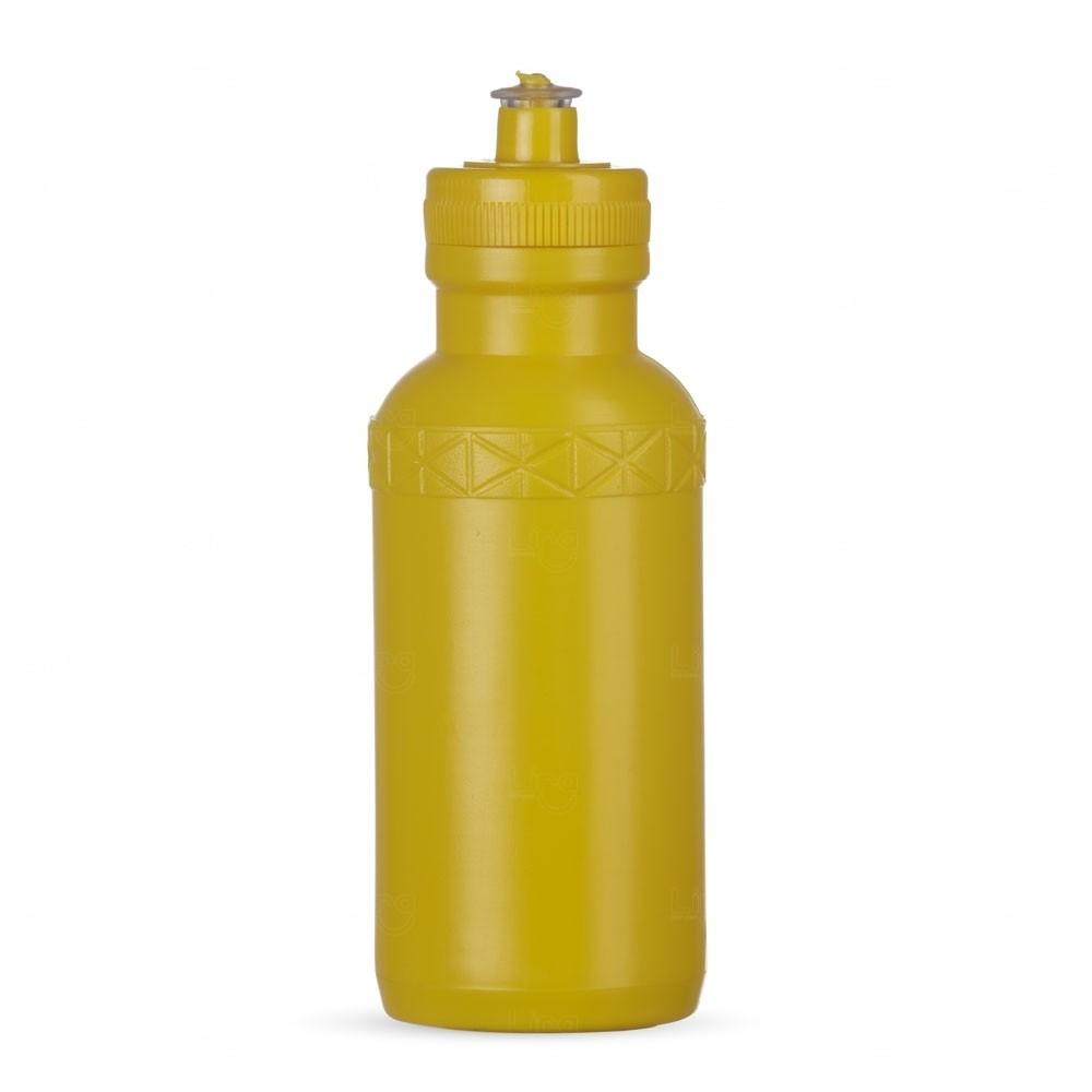 Squeeze Plástica Personalizada - 500ml Amarelo