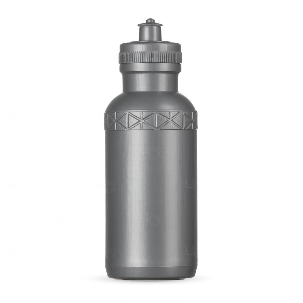 Squeeze Plástica Personalizada - 500ml Prata