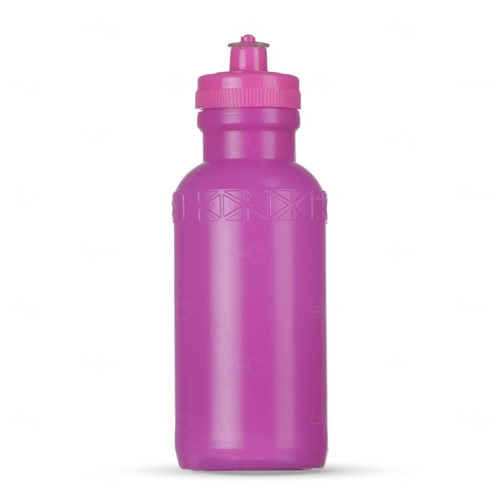 Squeeze Plástica Personalizada - 500ml Rosa