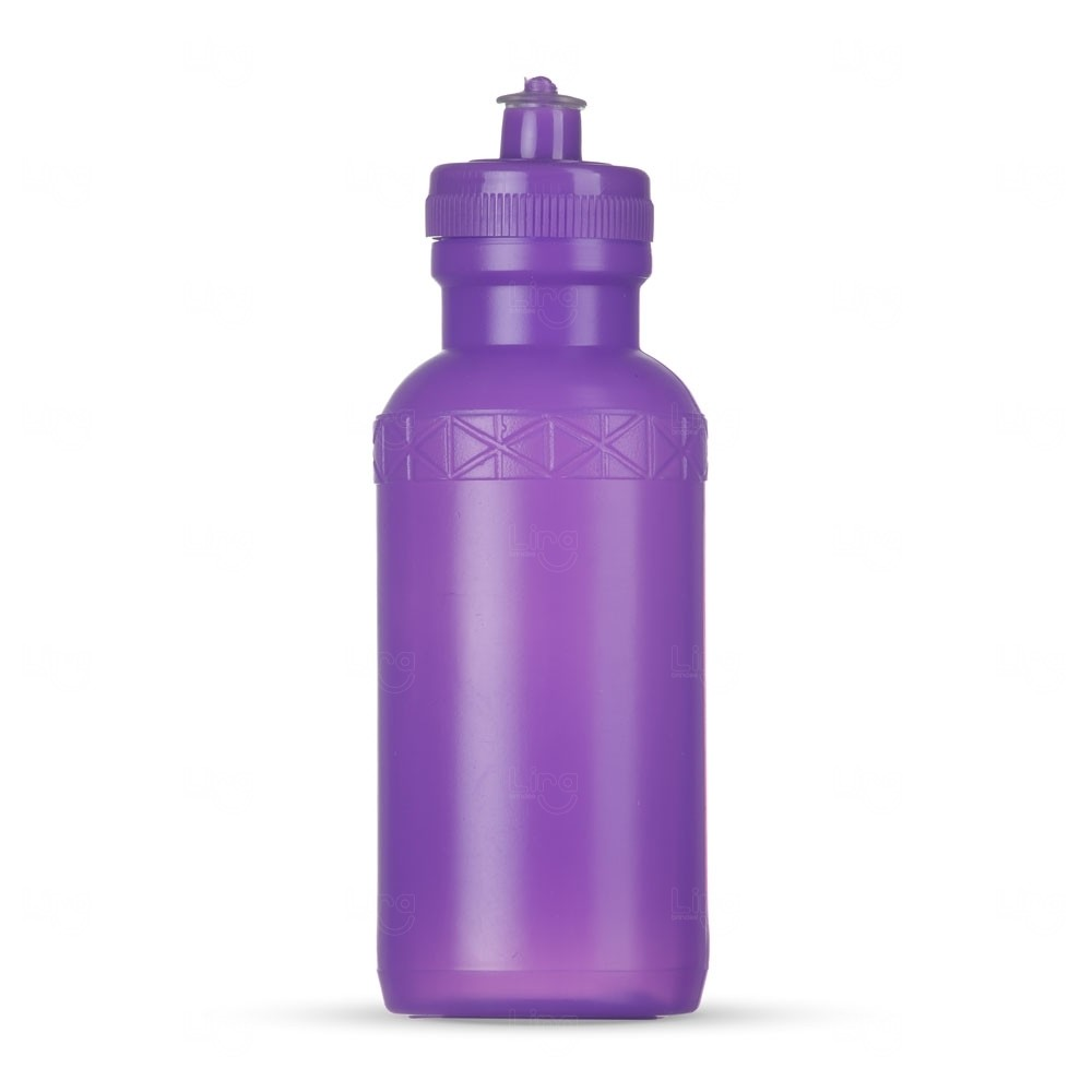Squeeze Plástica Personalizada - 500ml Roxo
