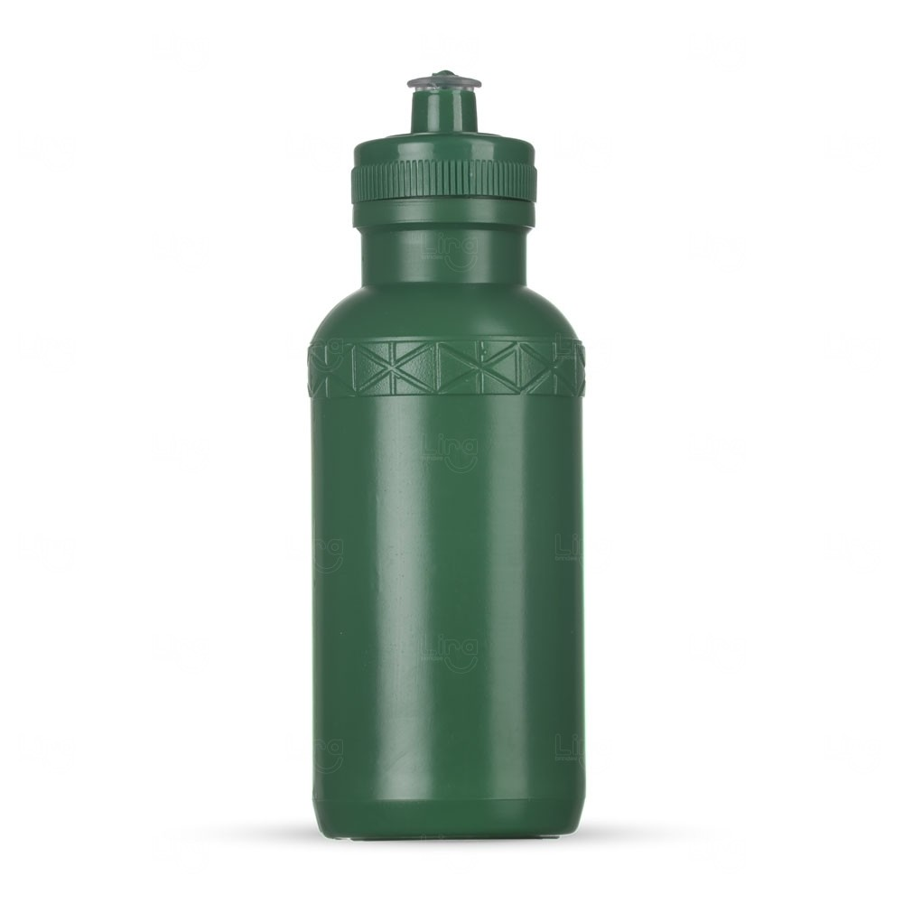 Squeeze Plástica Personalizada - 500ml Verde