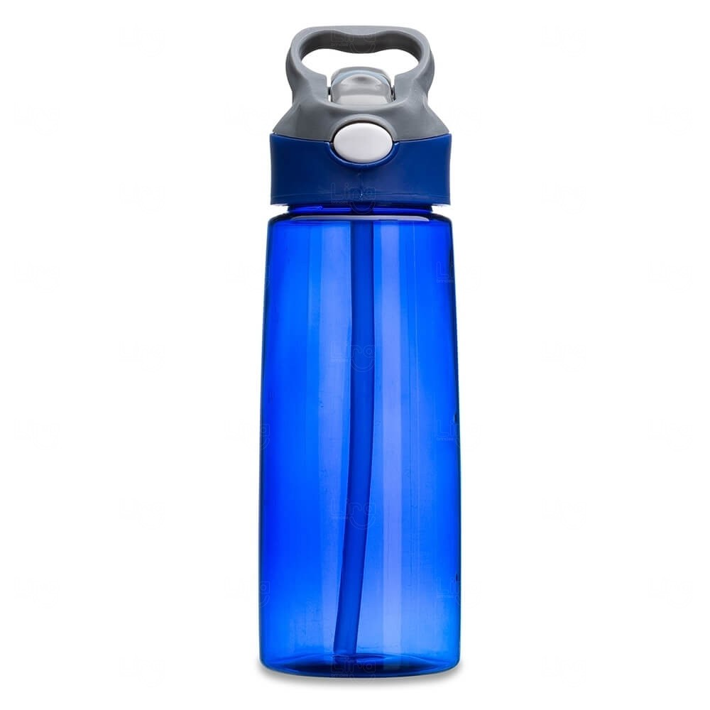 Squeeze Plástica Personalizada - 650ml Azul