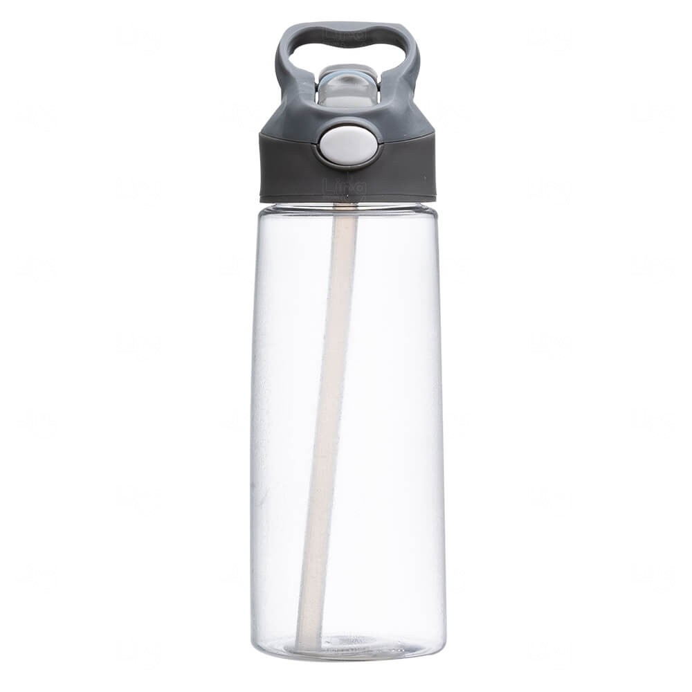 Squeeze Plástica Personalizada - 650ml Transparente