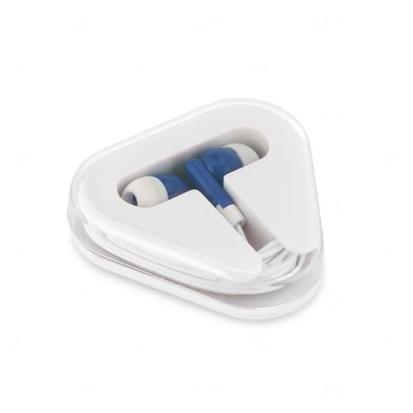 Fone de Ouvido Personalizado Azul