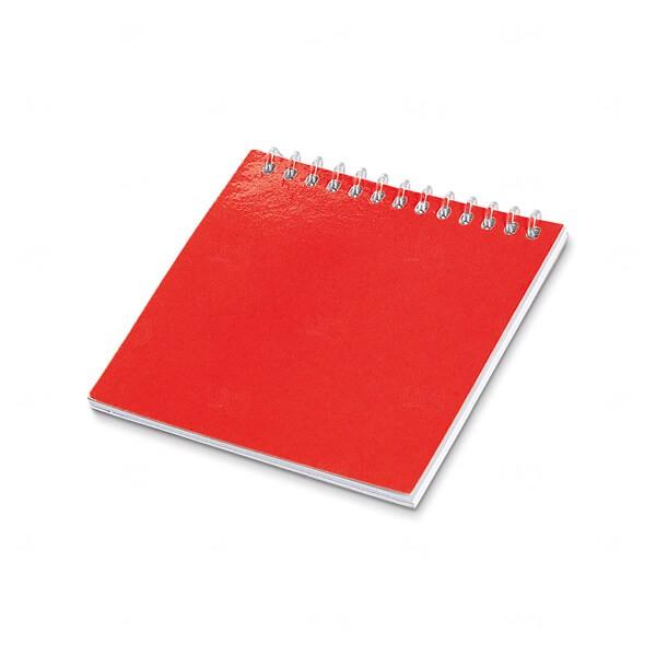 Caderno Para Colorir Personalizado Vermelho