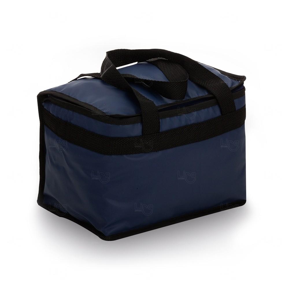 Bolsa Térmica Personalizada - 13 Litros Azul Marinho