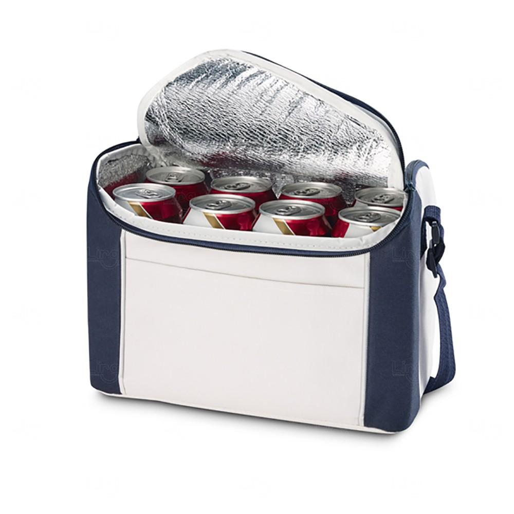 Bolsa térmica Personalizada - 8 Litros Azul Marinho
