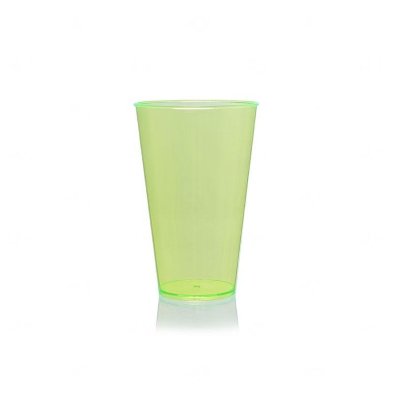 Copo Mega Drink Personalizado - 550 ml (Leitoso ou Cristal) Verde Chá