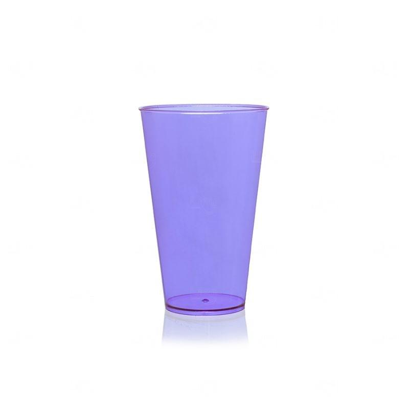Copo Mega Drink Personalizado - 550 ml (Leitoso ou Cristal) Lilás