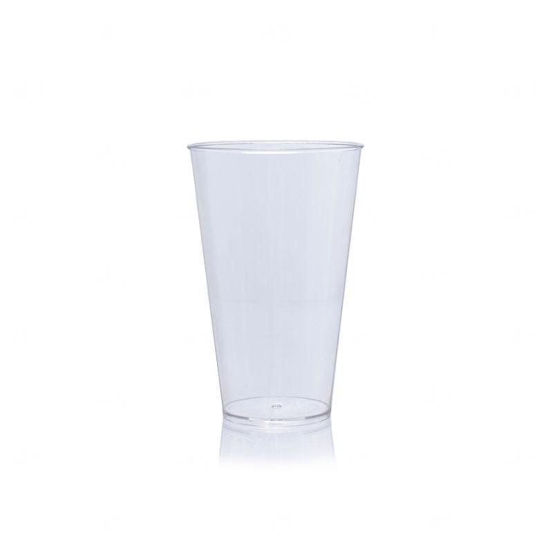 Copo Mega Drink Personalizado - 550 ml (Leitoso ou Cristal) Transparente
