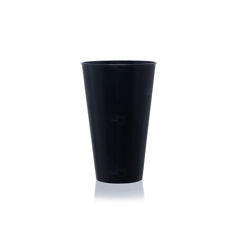 Copo Mega Drink Personalizado - 550 ml (Leitoso ou Cristal)