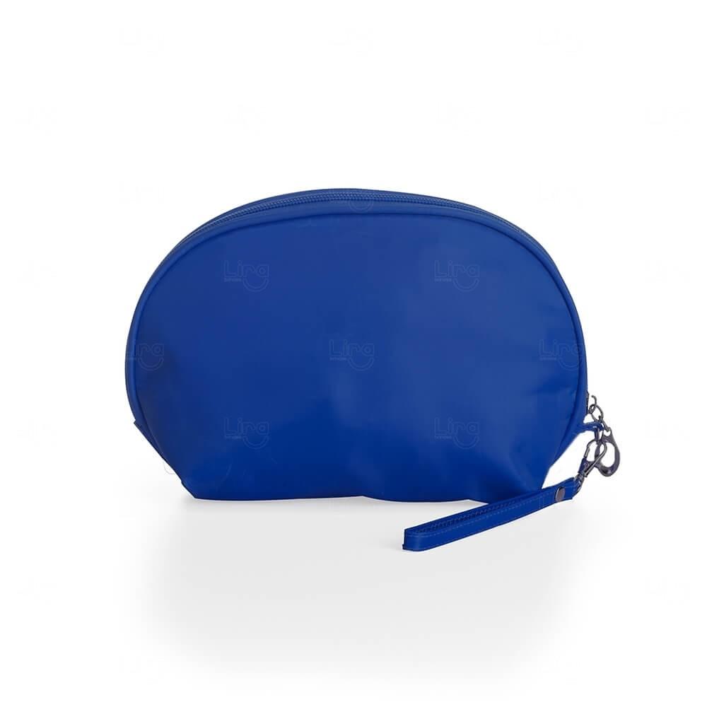 Necessaire Nylon Impermeável Personalizada Azul
