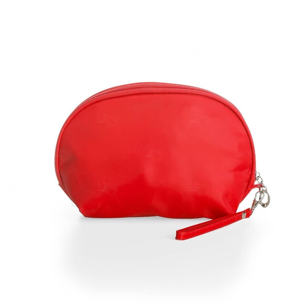 Necessaire Nylon Impermeável Personalizada Vermelho