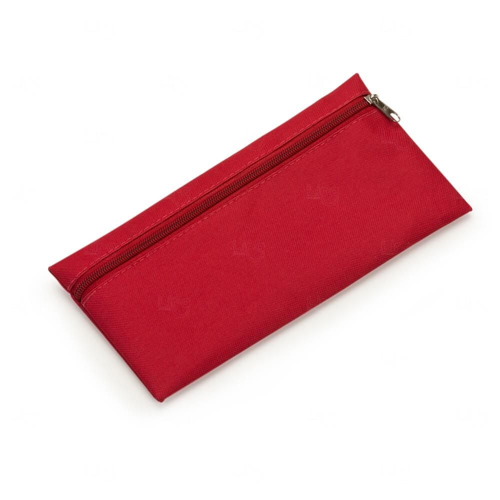 Necessaire de Nylon Personalizada Vermelho