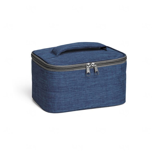 Necessaire Almofadada Personalizada Azul