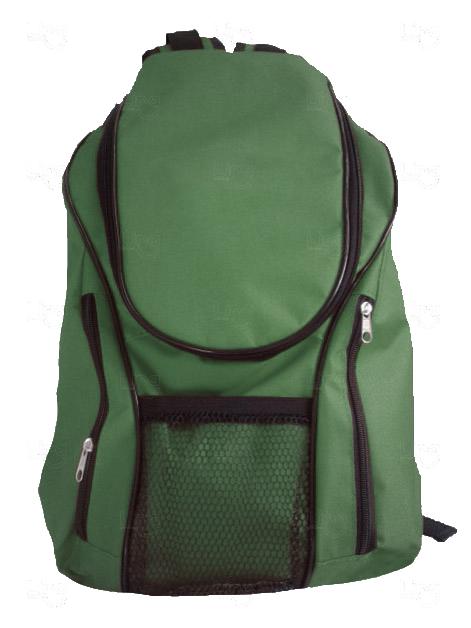 Mochila Lona de Algodão Personalizada Verde