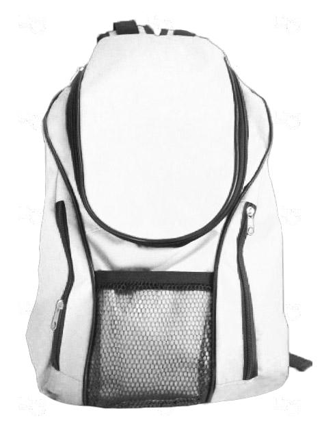 Mochila Lona de Algodão Personalizada Branco