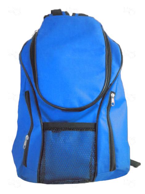 Mochila Lona de Algodão Personalizada Azul