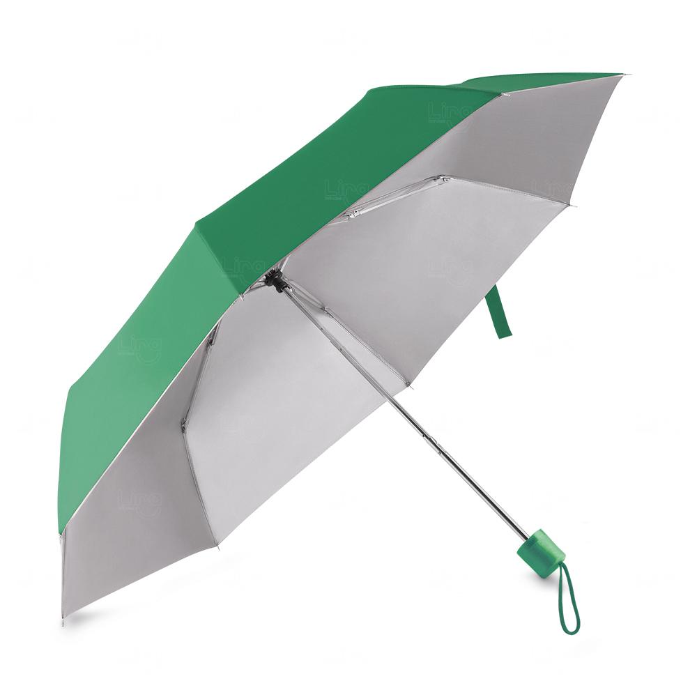 Guarda-Chuva C/ Cabo Plástico Personalizado Verde